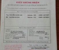 Cần bán gần mặt tiền Đỗ Xuân Hợp, Phước Long B, Q.9, giá 4.45 tỷ