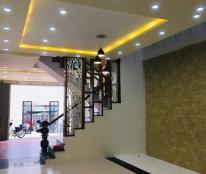 Bán nhà phố 3 mê mới xây, đường 7m, gần UBND P. 6, đường nội bộ Trần Nhật Duật thông ra Lý Thái Tổ