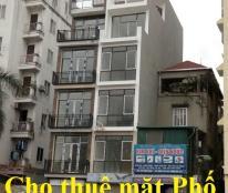 Cho thuê nhà mặt phố Phan Đình Phùng 100m2, MT: 4m, 3 tầng, 40 tr/th, Quý mặt phố 0981337456