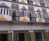 Bán nhà 1 trệt 3 lầu có sổ hồng, gần Aeon Tân Phú