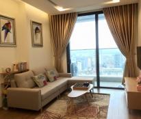 Cho thuê căn hộ chung cư Vincom Bà Triệu, 85m2, 1PN sáng, full nội thất thiết kế, giá 17.5tr/tháng