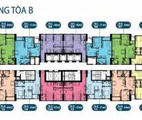 Chính chủ cần tiền bán gấp CHCC 885 Tam Trinh, tầng 1205, tòa CT3, DT 66,8m2, 21tr/m2, 0936071228