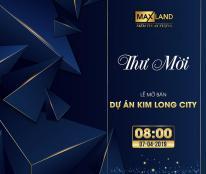 Kính mời quý khách hàng tham gia lễ mở bán shophouse khu E Kim Long vào 07/04/2019