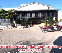 Bán nhà KDC quân đội Cái Răng - Liên hệ: 0979493579 - Linh