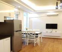 Cho thuê căn hộ dịch vụ tại Quần Ngựa, Ba Đình, 75m2, 2PN, đầy đủ nội thất hiện đại
