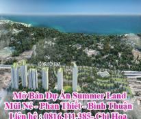 Mở Bán Dự Án Summer Land Mũi Né - Phan Thiết