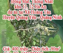 Bán đất nền dự án tại Xã Quảng Yên - Huyện Quảng Yên - Quảng Ninh, LH: Trần Chung 0338722288Và Sđt 0332955111