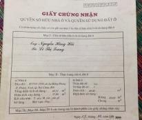 Chính chủ cần tiền bán nhà ở K57/03 (55A cũ )  Lê Hồng Phong, P. Phước Ninh, Q. Hải Châu, Đà Nẵng