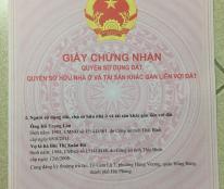 Bán đất thổ cư Cam Lộ 7, Hùng Vương, Hồng Bàng, Hải Phòng