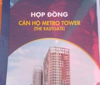 Dự án Metro Tower Estegate làng đại học Thủ Đức - Thanh toán 30% và 30tr chênh lệch. Đã bao gồm thuế và phí.