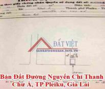 Bán Đất Đường Nguyến Chí Thanh, Chư Á, TP Pleiku, Gia Lai