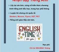 Nhận Dạy Tiếng Anh Tại Nguyễn Thị Minh Khai,Phường Đa Kao Quận 1 TP HCM