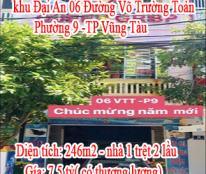 Chính Chủ Cần Bán Căn Nhà Đẹp Tại khu Đại An 06 Đường Võ Trường Toản -Phường 9-TP Vũng Tàu