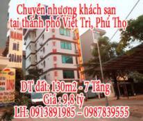 Chuyển nhượng khách sạn tại thành phố Việt Trì, Phú Thọ