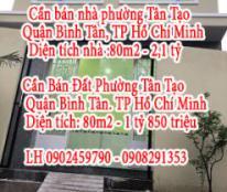 Chính Chủ Cần Bán Nhà Đất Phường Tân Tạo , Quận Bình Tân, Hồ Chí Minh