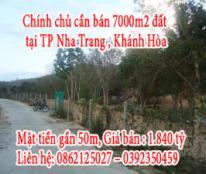 Chính chủ cần bán đất tại TP Nha Trang , Khánh Hòa