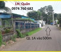 bán 1 sào 3 đất có 2 mặt tiền ngay kcn Hưng Lộc cách quốc lộ 1A 500m