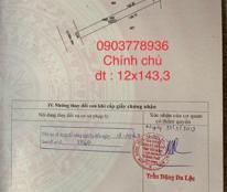 Chính chủ bán ĐẤT mặt tiền đường 30m khu phố Ninh Phúc, DT 1.657,7m2, giá 2.1 tỷ, LH 0903778936