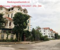 Bán đất biệt thự Đại Hoàng Long nhìn vườn hoa , TP Bắc Ninh