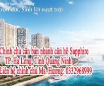 Chính chủ cần bán nhanh căn hộ Sapphire, TP. Hạ Long, Tỉnh Quảng Ninh
