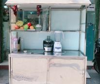 Cần thanh lý tủ dùng bán nước ép trái cây hoặc bán bánh mỳ