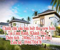 Chính chủ cần bán biệt thự view biển Cam Ranh Mystery, Khánh Hòa