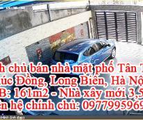 Chính chủ bán nhà mặt phố Tân Thụy, Phúc Đồng, Long Biên, Hà Nội