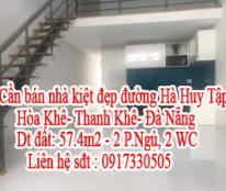 Cần bán nhà kiệt đẹp đường Hà Huy Tập- Hòa Khê- Thanh Khê- Đà Nẵng