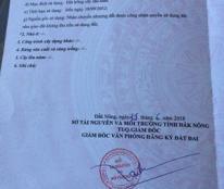 Cần bán lô đất mặt tiền đường Lý Thái Tổ, thị xã Gia Nghĩa, tỉnh Đắk Nông.