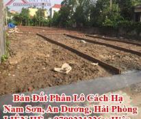 Bán Đất Phân Lô Cách Hạ, Nam Sơn, An Dương, Hải Phòng