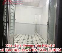 Bán Nhà cấp 4, Đường Tân Hiệp 8-1, xã Tân Hiệp, huyện Hóc Môn, TpHCM