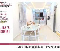 Chính chủ cần bán căn hộ Nha Trang đẹp - tiện nghi - cách biển 300m - 2 phòng ngủ - 2 WC - camera an ninh