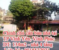 Cần bán nhà chính chủ tại TP Vĩnh Yên, Vĩnh Phúc