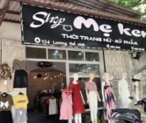 Cần Sang Nhượng Shop Mẹ Ken Chuyên Thời Trang Nữ Và Mỹ Phẩm 124 Lương Thế Vinh, TP Thái Nguyên.