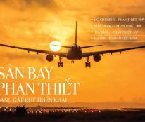 50.000 đồng/ m2 đất gần sân bay Phan Thiết, KDL Bàu Trắng DT716. Con Đường Đẹp Nhất VN 9/1