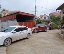 Chính chủ  270 m2 đất nhà C4 BT, MT 25m, đường ô tô, gần UBND Văn Giang mới