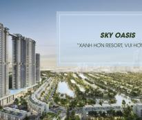Mở bán chung cư Ecopark Sky oasis đẹp nhất Ecopark giá dưới 900tr
