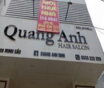 Chính chủ cần cho thuê nhà 3 tầng 2 mặt tiền Phan Đình Phùng, TP Thái Nguyên.