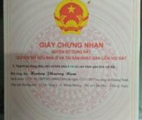 Cần bán nhà phường Mông Dương, Thị Xã Cẩm Phả, Quảng Ninh.