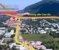 Bán lô đất mặt tiền đường Trường Chinh cổng vào KĐT kiểu mẫu Ecotow Phú Mỹ và lối lên cao tốc BH-VT.