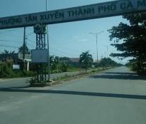 Cần bán đất nền khu dân cư phường Tân Xuyên TP Cà Mau