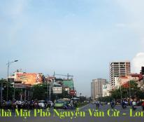 Cần Bán Nhà Mặt Đường Nguyễn Văn Cừ, Ngọc Lâm, 360m2, MT 11,2m, 3 Tầng, Lô Đầu Hồi, Giá Tốt