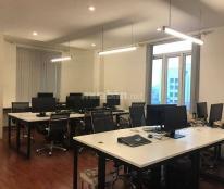 Cho thuê văn phòng setup sẵn quận Đống Đa