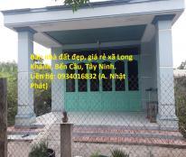 Bán nhà đất đẹp, giá rẻ xã Long Khánh, Bến Cầu, Tây Ninh