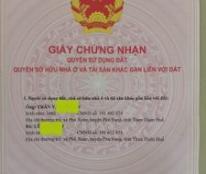 Chính chủ cần bán lô đất thổ cư 2 mặt tiền Tại: Diên Đại, Xã Phú Xuân, Huyện Phú Vang, Thừa Thiên Huế