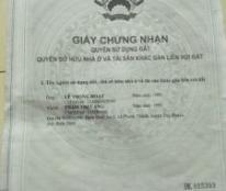 Chính chủ cần bán gấp lô đất, mua đất tặng nhà tại thôn Bình An 1 , Phước Thành, Tuy Phước, Bình Định