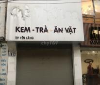 Cho thuê nhà làm cửa hàng, văn phòng tại 119 Yên Lãng, Đống Đa, Hà Nội