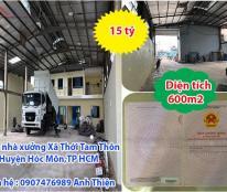 Bán nhà xưởng Xã Thới Tam Thôn, Huyện Hóc Môn,TP HCM