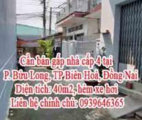 Cần bán gấp nhà cấp 4 tại phường Bửu Long, TP Biên Hoà, Đồng Nai