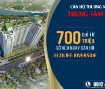 Bán căn hộ đường Điện Biên Phủ Quy Nhơn, chỉ 705 triệu căn 1 phòng ngủ